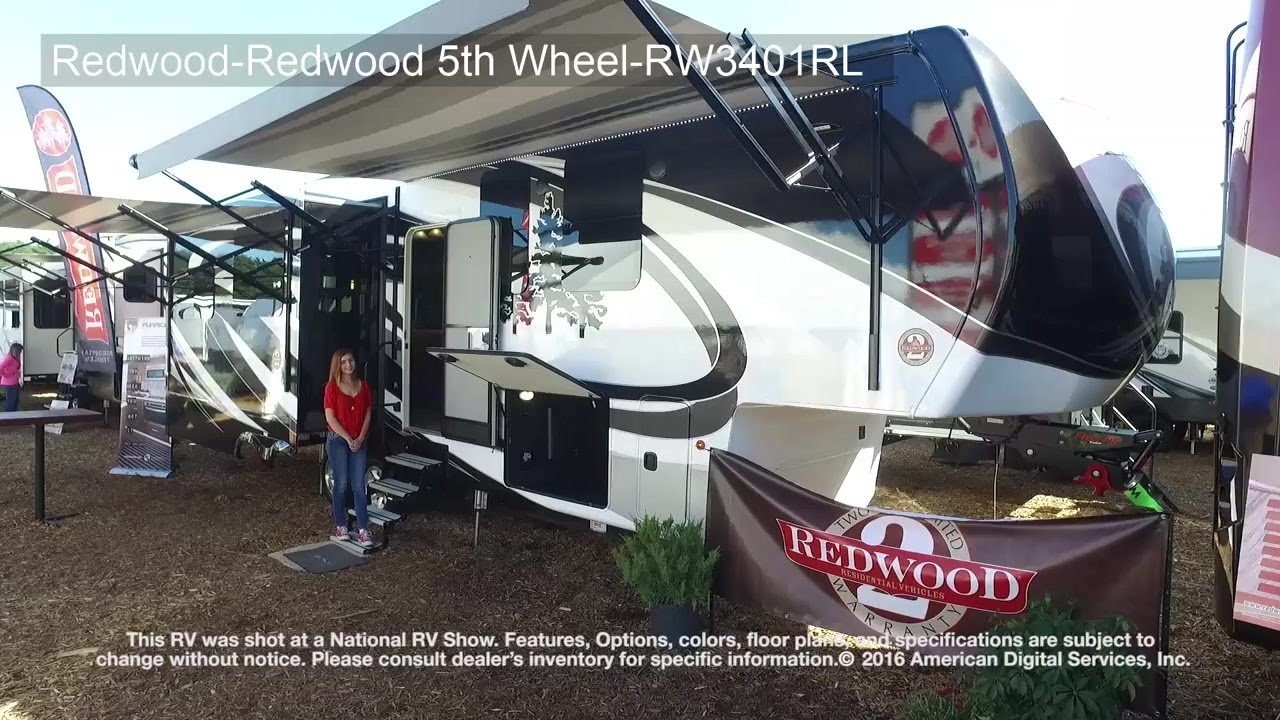 redwood-redwood 5th wheel-rw3401rl