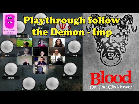 Blood on the Clocktower, Trouble Brewing, Follow the Demon - Imp