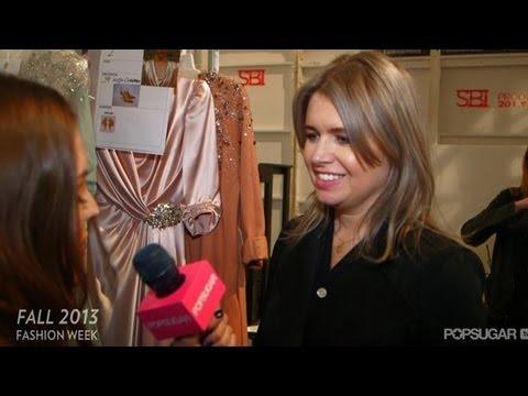 Jenny Packham's Definition of Modern Elegance | New York Fashion Week