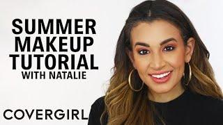 Summer Makeup Tutorial: Glowy Makeup Look | COVERGIRL