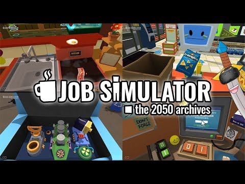BEST WORKER EVER! - Job Simulator - Job Simulator All Jobs First Time