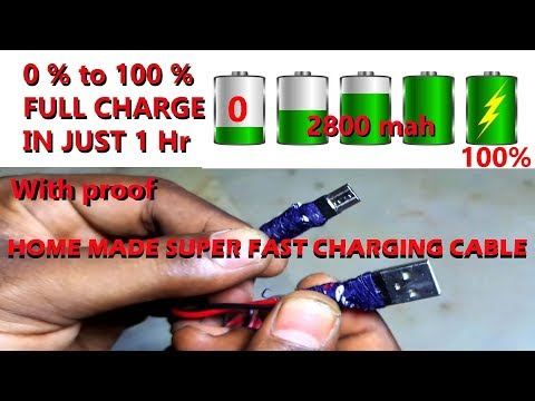 How To Make A High Speed Micro USB Charging Cable  || Step By Step || DIY Charging Cable