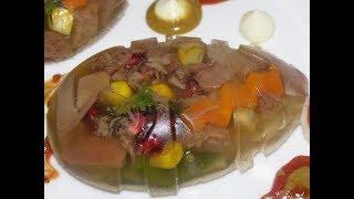 Заливное из языка Идеальное блюдо на Новый Год! I Jelly from beef tongue.