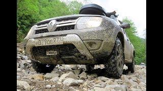 Renault Duster. Подъем на холм по-русски