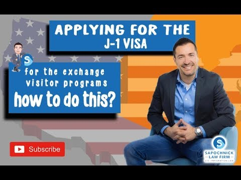Applying For The J1 Visa For The Exchange Visitor Program: San Diego Immigration Lawyer