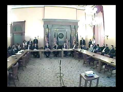 1-18-12 Senator Griffo Questions for Homeland Security Commissioner Jerome Hauer Nomination