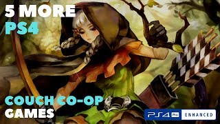 5 More PS4 Split screen Couch Co-Op Games
