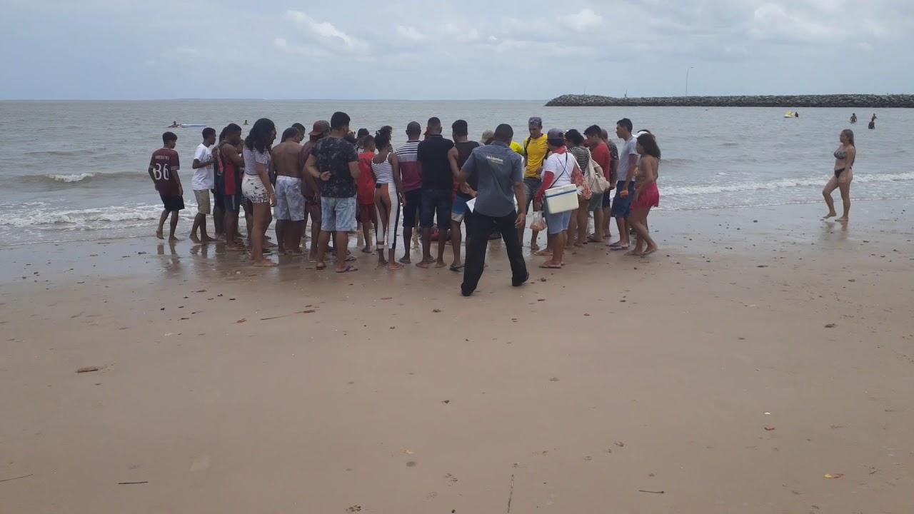Resultado de imagem para jovem  morre afogado praia de banho sabado  sao jose de ribamar