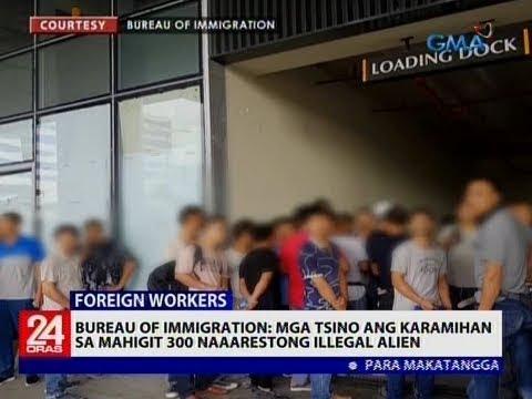 Bureau of Immigration: Mga Tsino ang karamihan sa mahigit 300 naaarestong illegal alien