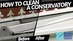 How to clean a conservatory professionally | BWCA | Ionic Systems