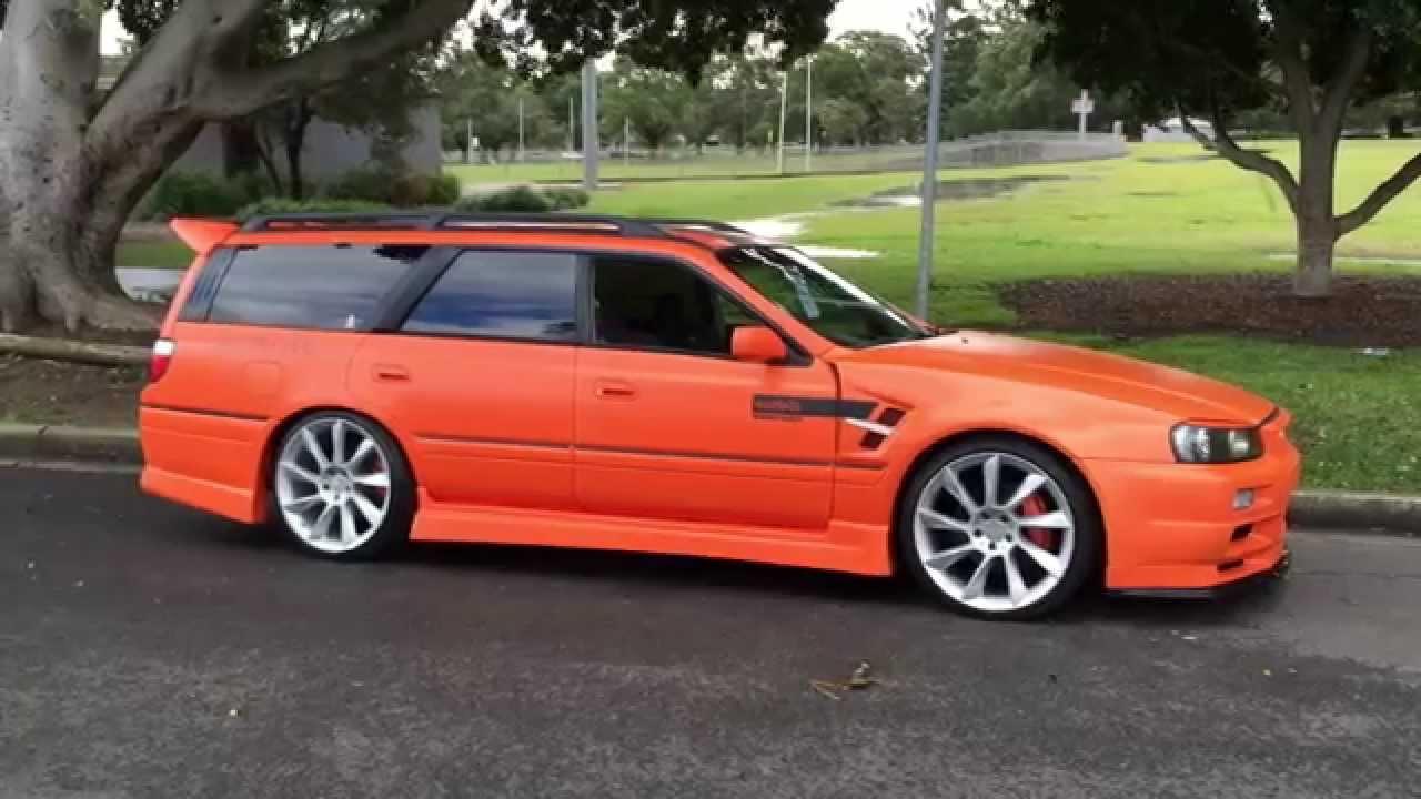 Nissan Stagea R34 M34 Gt R Orange Beast Rb25 Turbo