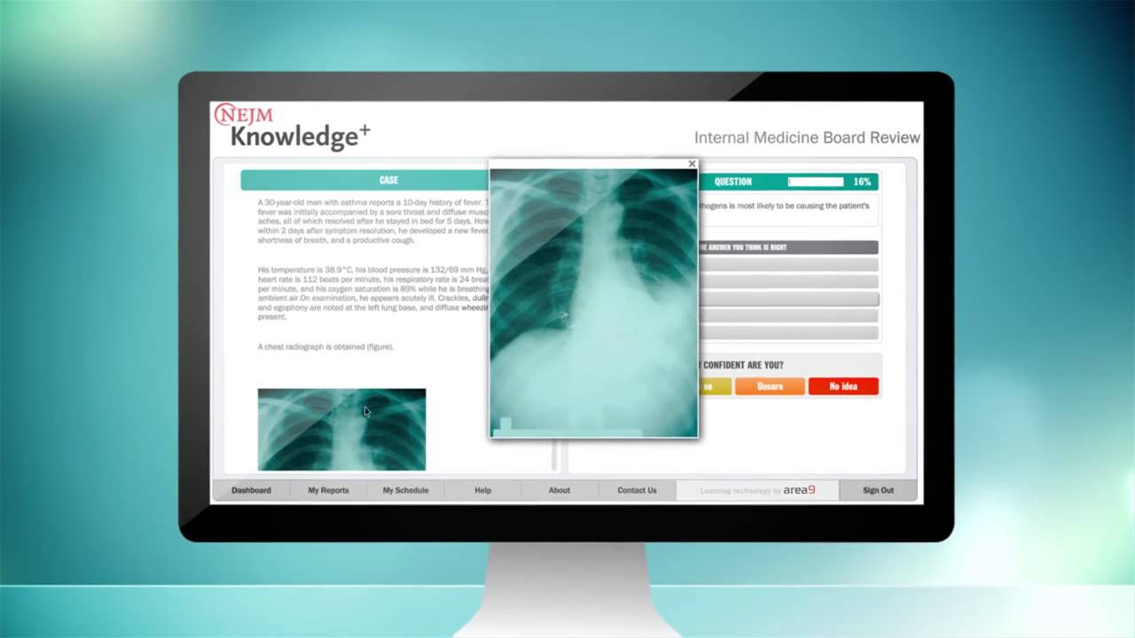 NEJM Knowledge+ Internal Medicine Board Review Demo