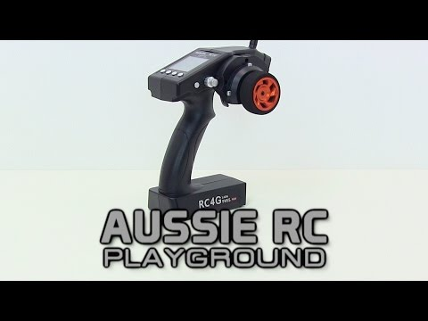 Radiolink RC4G Overview - 4ch Wheel Radio w/Gyro System