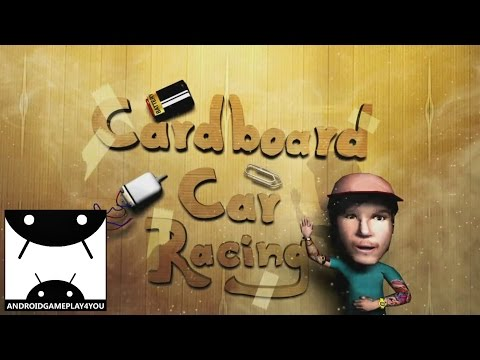 Cardboard Car Racing Android GamePlay Trailer (1080p) (By Never Pixel) [Game For Kids]