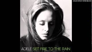 Adele - Set Fire to the Rain (Studio Acapella) - HQ
