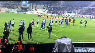 BEŞİKTAŞ DİNAMO KİEV MAÇ BAŞI UEFA LİGİ - TRİBÜN SHOW SERKAN KOÇ GEBZE