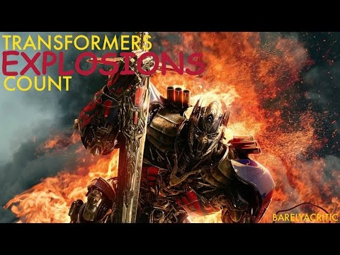 Every Transformers Explosion Supercut!!!