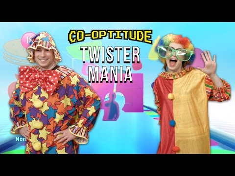 Felicia and Ryon are having tons of fun playing Twister Mania, where players don