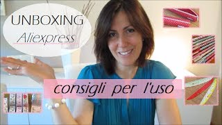 UNBOXING | Haul Aliexpress Kawaii | CONSIGLI PER L'USO