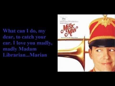Marian the Librarian-The Music Man