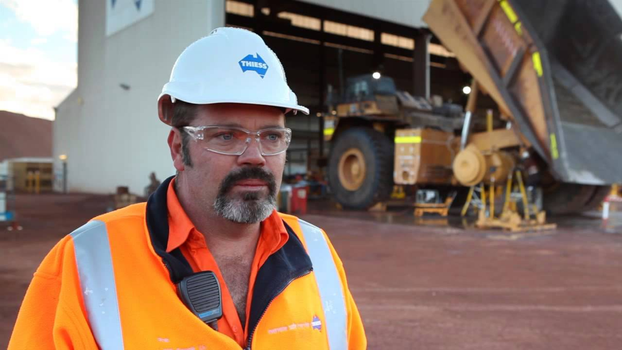 Meet Rob, Diesel Fitter at Prominent Hill