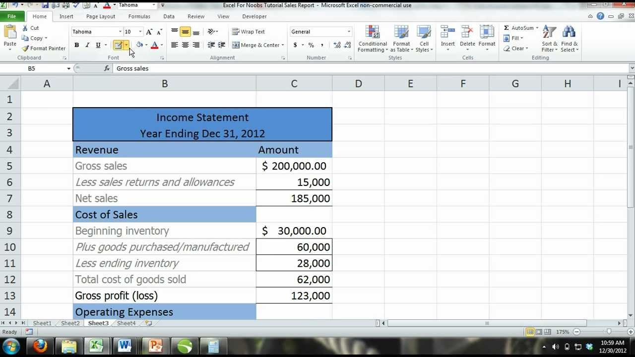 how to draw in excel 2013