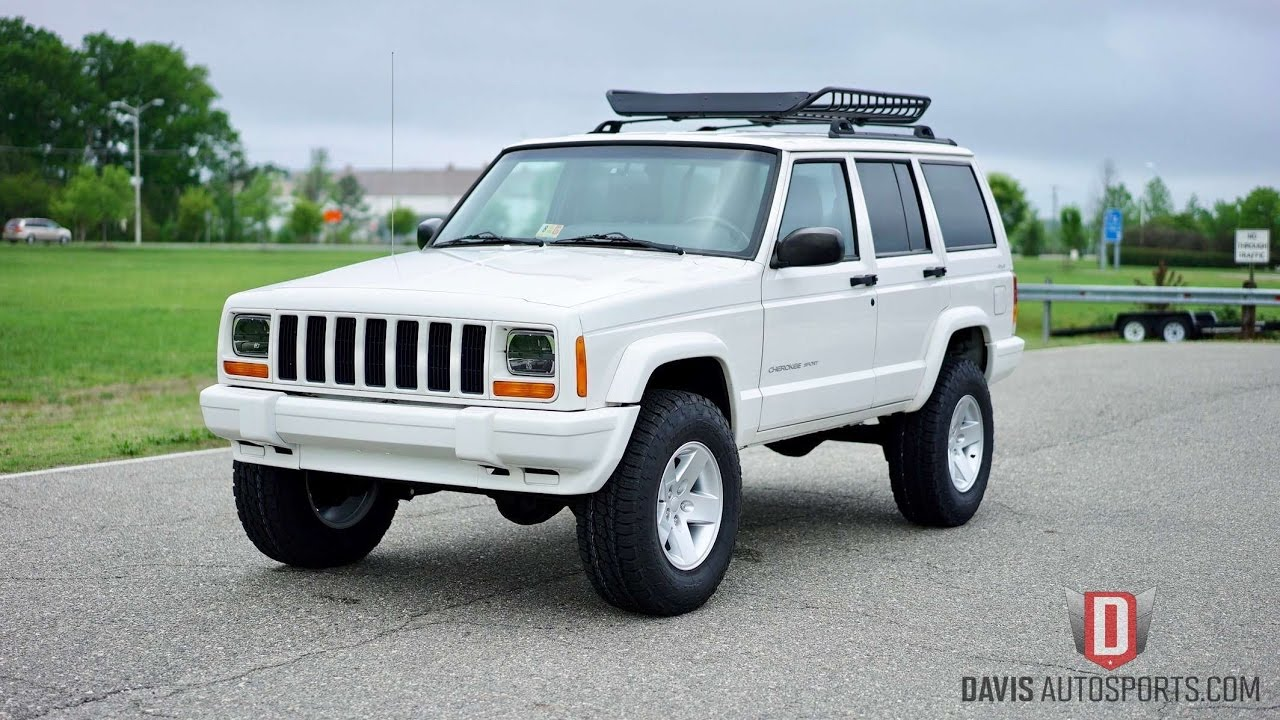 davis autosports jeep cherokee xj restored built all new for sale youtube. Black Bedroom Furniture Sets. Home Design Ideas