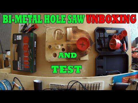 LIDL Bi-Metal Hole Saw UNBOXING and TEST | PARKSIDE körkivágó