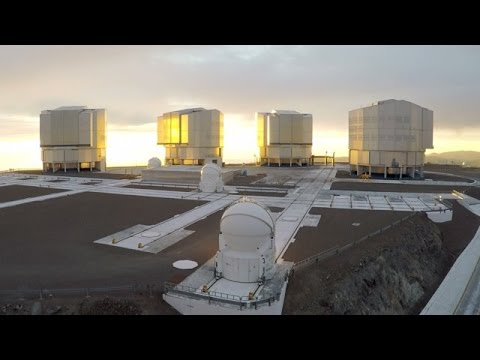 """ESOcast 89: Chile Chill 8 – """"A Bird's Eye View of ESO Observatories"""""""