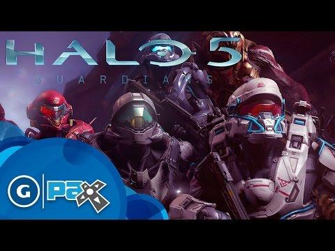 Опубликован новый геймплейный ролик игры Halo 5: Guardians с выставки PAX Prime 2015