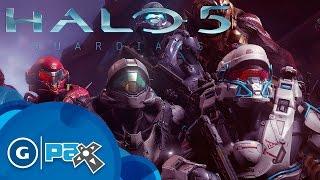 8 دقائق من أسلوب اللعب في Halo 5 Guardians