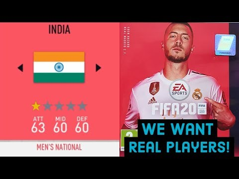 FIFA 20 India - What Indian Fans Want! | We Want Sunil Chhetri | Fix FIFA 20
