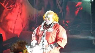 Shawn Crahan - Slipknot - The Blister Exists - Clown Cam [Berlin 2011]