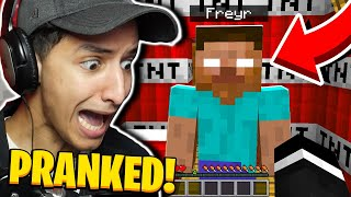 I was HACKED and TROLLED in Minecraft! (Funny Minecraft Video)