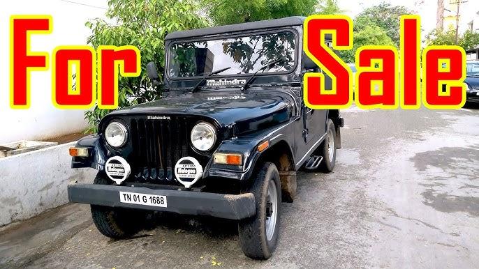 Mahindra 540 Jeep For Sale Ready To Roar Used Cars Mahindra Thar Youtube