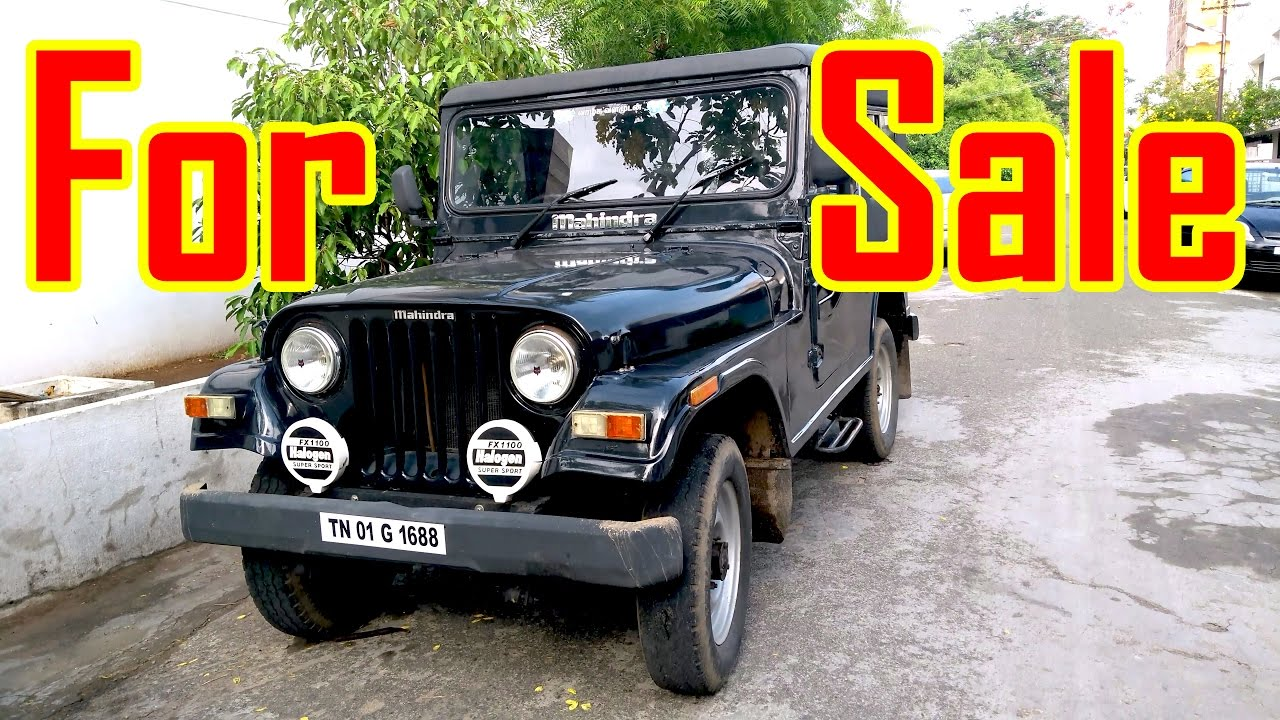 Mahindra 540 Jeep For Sale Ready For Trekking Used
