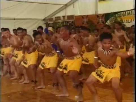 Polyfest St Pauls College Samoan Group Siva