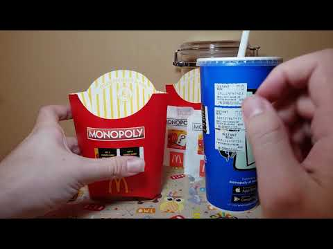 MCDONALDS MONOPOLY! FREE INSTANT WIN CODES! I WON A ...
