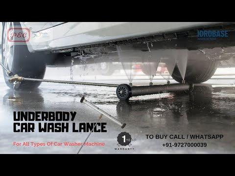 PEC Underbody Car Wash - Undercarriage Cleaner