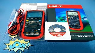 مراجعة ملتيميتر UT61 يونى تى | Digital Multimeter UNI-T UT61B Unboxing and Review