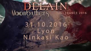 DELAIN - Tour Announcement France   Napalm Records