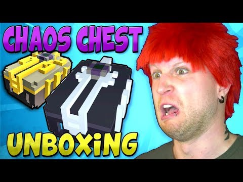 UNBOXING OVER 1000+ CHAOS CHESTS in TROVE!