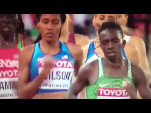 Caster Semenya wins 800m Women Final IAAF World Champs London 2017