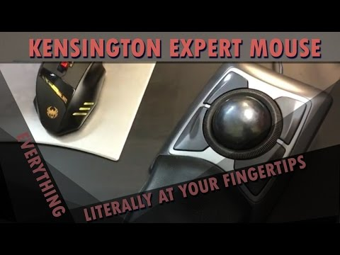 The Kensington Expert Mouse  Everything Literally At Your Fingertips
