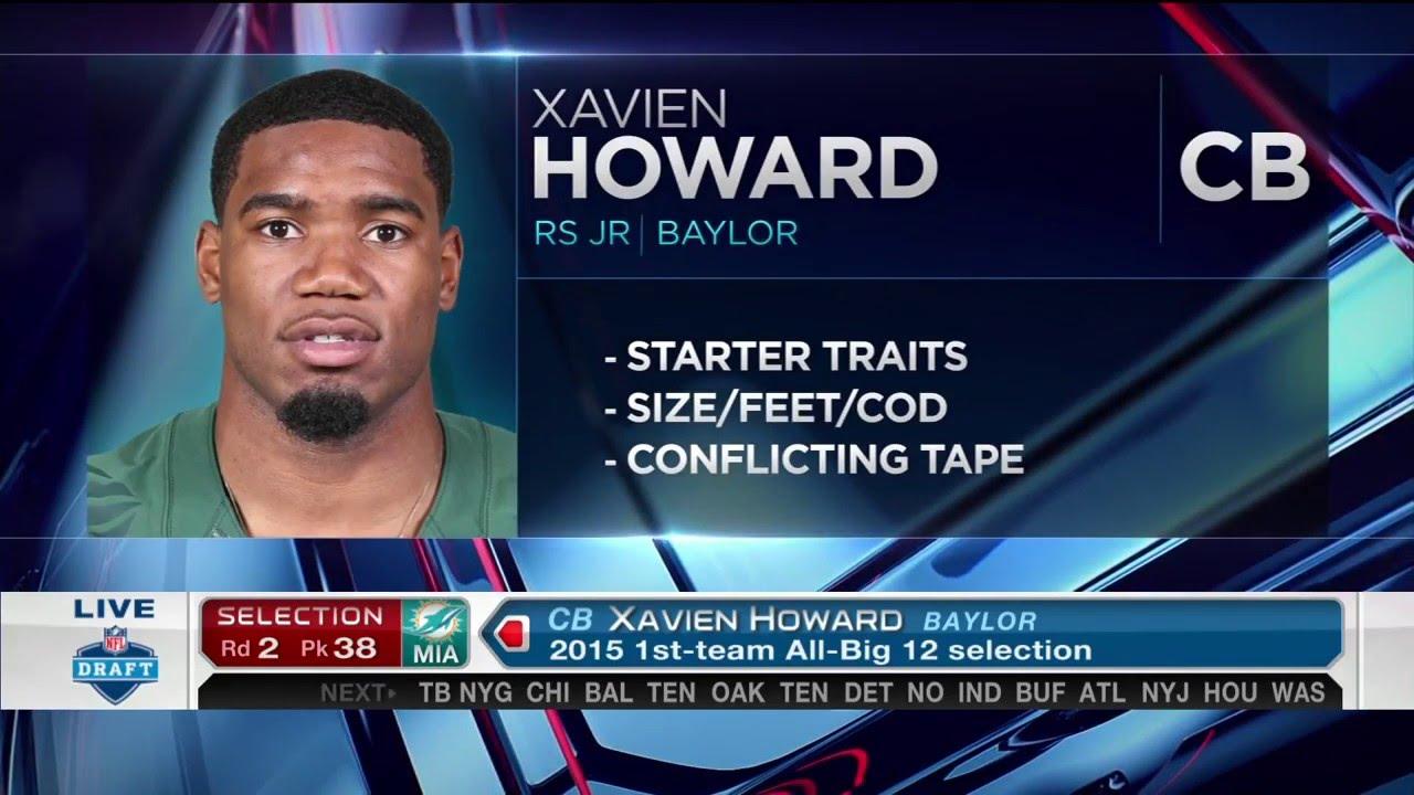 「xavien howard draft」の画像検索結果