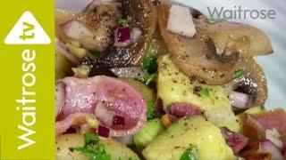 New Potato, Bacon & Mushroom Salad Recipe From Waitrose