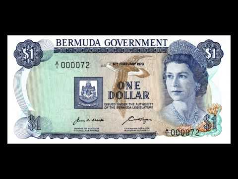All Bermudian Dollar Banknotes - 1970 Issue