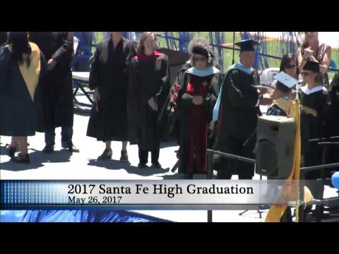 2017 Santa Fe High Graduation