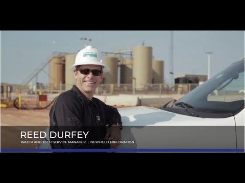 Newfield Exploration Barton Water Recycling Facility, Kingfisher OK
