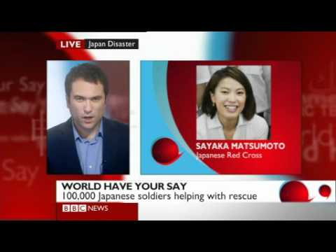 BBC World Have Your Say: Japan Earthquake & Tsunami